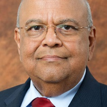 Headshot of Pravin Gordhan