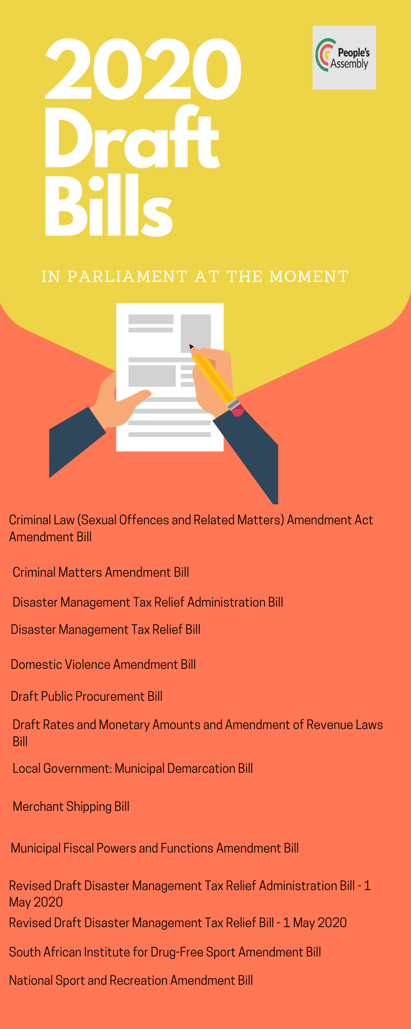 2020 Draft Bills