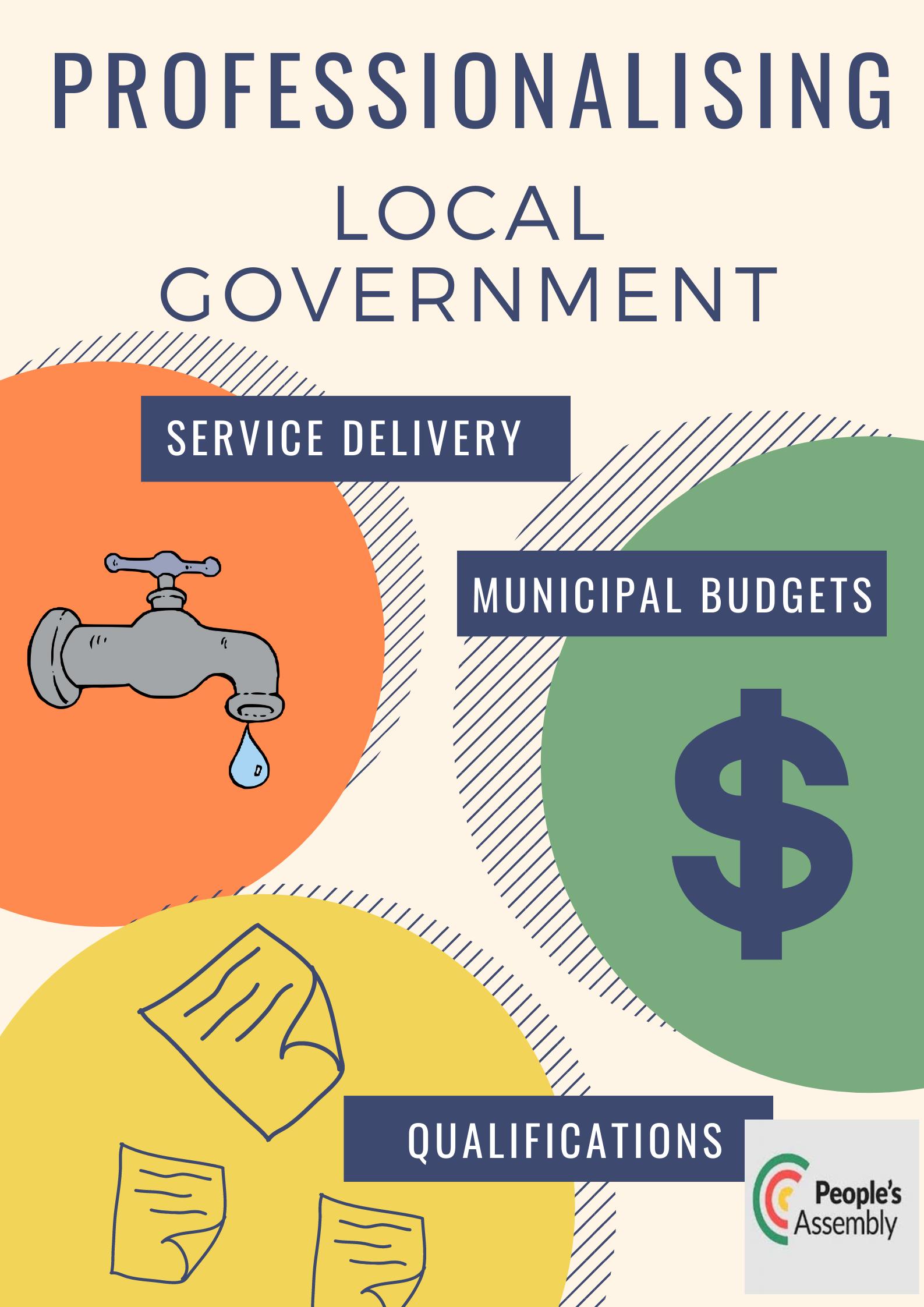professionalising local govt