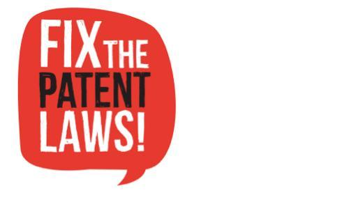 Fix the Patent Laws
